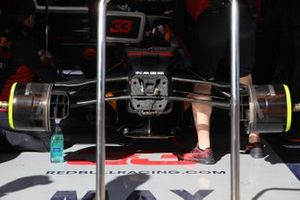 Detalle delantero del Red bull Racing RB16