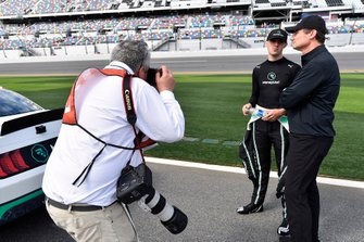Austin Cindric, Team Penske, Ford Mustang MoneyLion and Tim Cindric and Academy of Noice