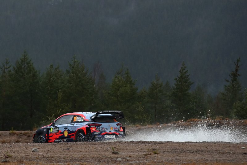 2020 FIA World Rally Championship Round 02 Rally Sweden 13-16 February 2020 Action, Day 3, Craig Breen, Paul Nagle, Hyundai i20 Coupe WRC Photographer: Jordi Rierola Worldwide copyright: Hyundai Motorsport GmbH
