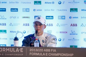 Maximilian Günther, BMW I Andretti Motorsports, 1st position, in the post race press conference