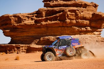 #418 Xtremeplus Polaris Factory Team: Graham Knight, David Watson