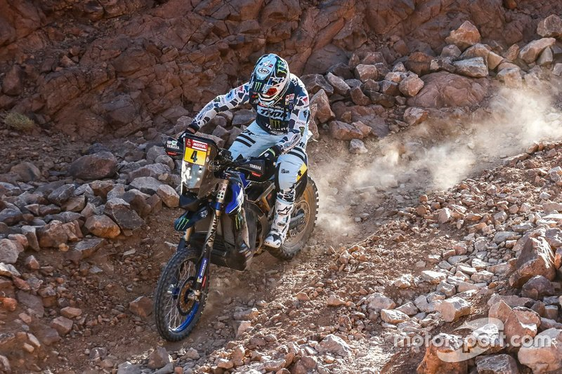 #4 Monster Energy Yamaha Rally Team: Adrien Van Beveren