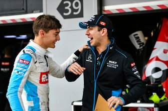 Nicholas Latifi, Williams Racing, avec un message pour George Russell, Williams Racing