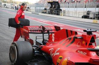 Ferrari SF1000 rear wing