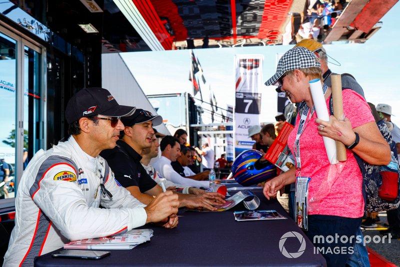 #7 Acura Team Penske Acura DPi, DPi: Helio Castroneves, Ricky Taylor, Graham Rahal, Autograph Session