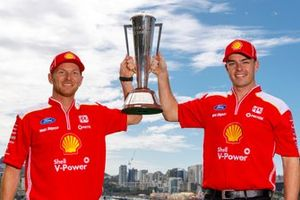 winners Scott McLaughlin, Alexandre Prémat, DJR Team Penske