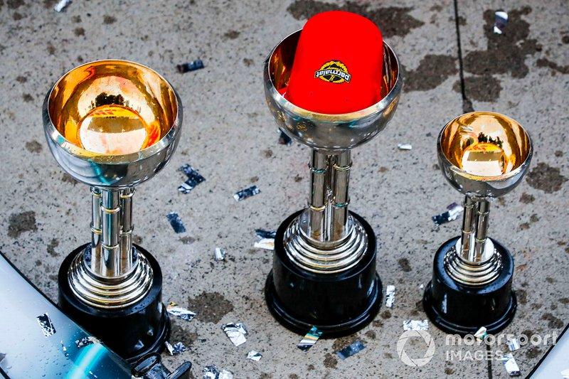 Les trophées remportés par Mercedes