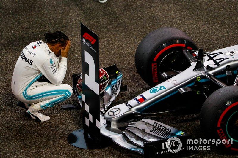Y 10 carreras después volvió a sumar una pole, en Abu Dhabi 2019