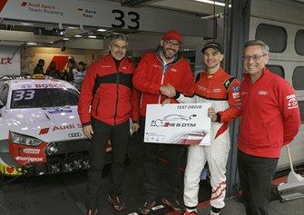 Robin Rogalski, Audi DTM Test