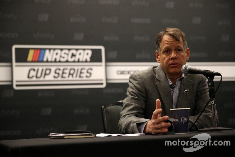Daryl Wolfe, Vicepresidente Ejecutivo de NASCAR y Jefe de la Oficina de Ventas y Operaciones