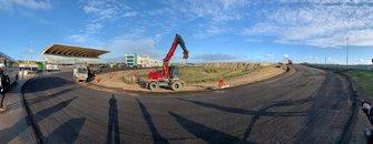 Bauarbeiten am Circuit Zandvoort