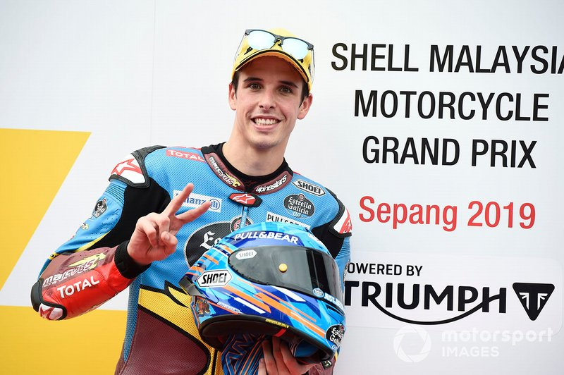 Pole sitter Alex Marquez, Marc VDS Racing