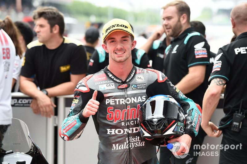 Terzo classificato John McPhee, SIC Racing Team, Q2 Moto3