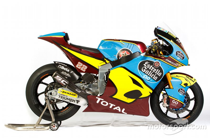 Moto de Sam Lowes, Marc VDS Racing