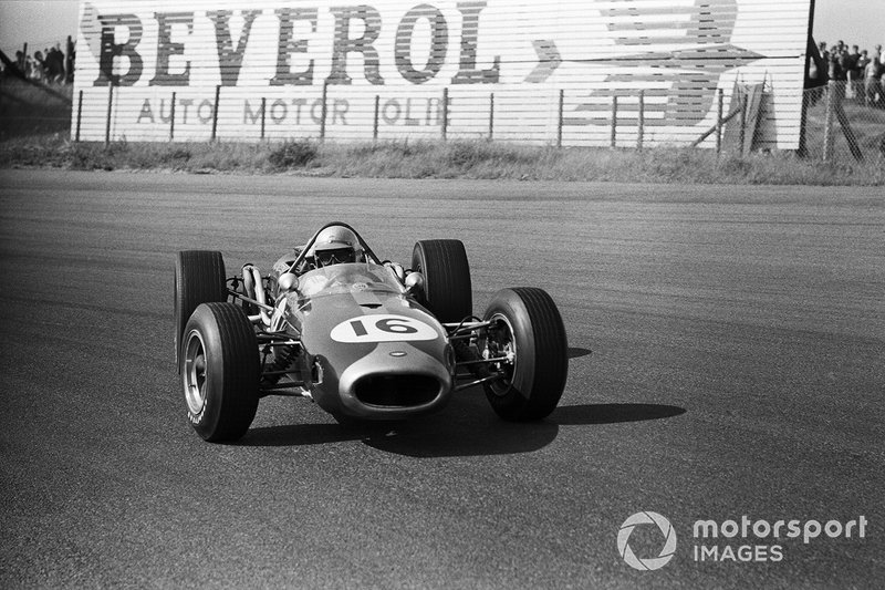 Zandvoort 1966: Een driftende Jack Brabham