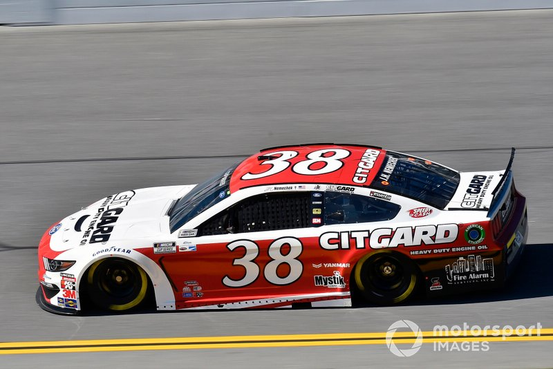 23. John Hunter Nemechek, Front Row Motorsports, Ford Mustang