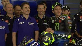 Jorge Lorenzo Yamaha, Valentino Rossi, Yamaha