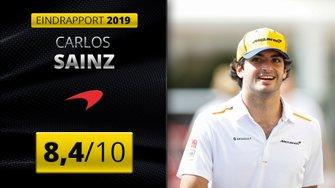 Eindrapport 2019 Carlos Sainz, McLaren