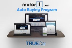 Motor1 Auto Buying Program powered by TrueCar