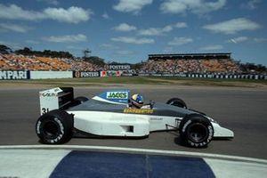 Naoki Hattori, Coloni C4 Ford, al GP d'Australia del 1991