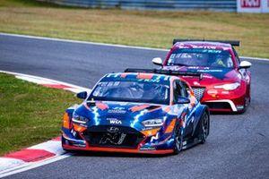 Jean-Karl Vernay, Hyundai Motorsport N, Hyundai Veloster N ETCR, Rodrigo Baptista, Romeo Ferraris-M1RA, Alfa Romeo Giulia ETCR