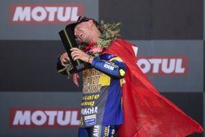 Dominique Agerter se corona campeón del mundo de Supersport