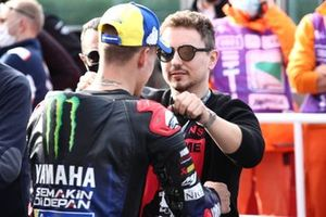 Campeón del Mundo Fabio Quartararo, Yamaha Factory Racing, Jorge Lorenzo