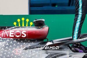 Mercedes-AMG F1 W11 detail