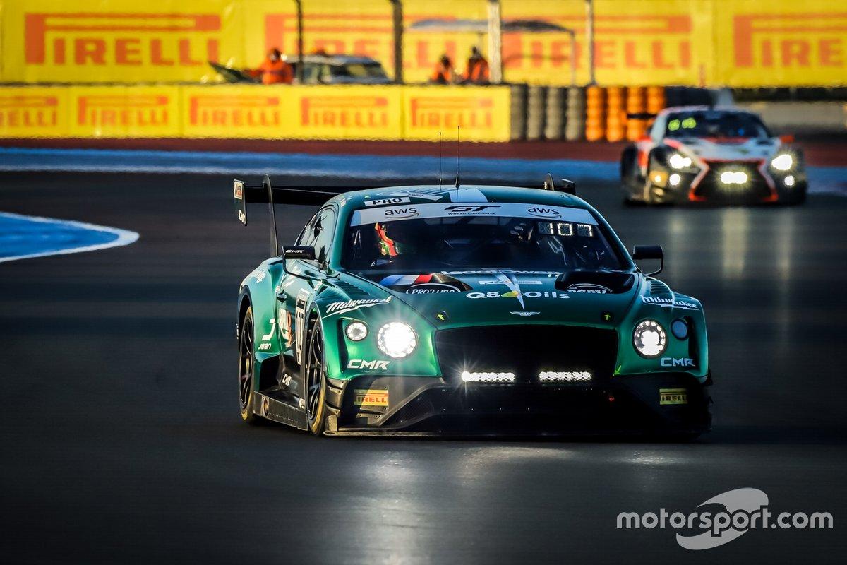 #107 CMR Bentley Continental GT3: Nelson Panciatici, Pierre Alexandre Jean, Seb Morris