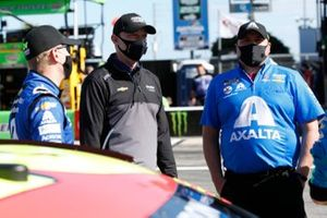 William Byron, Hendrick Motorsports, mit Chad Knaus und Rudy Fugle