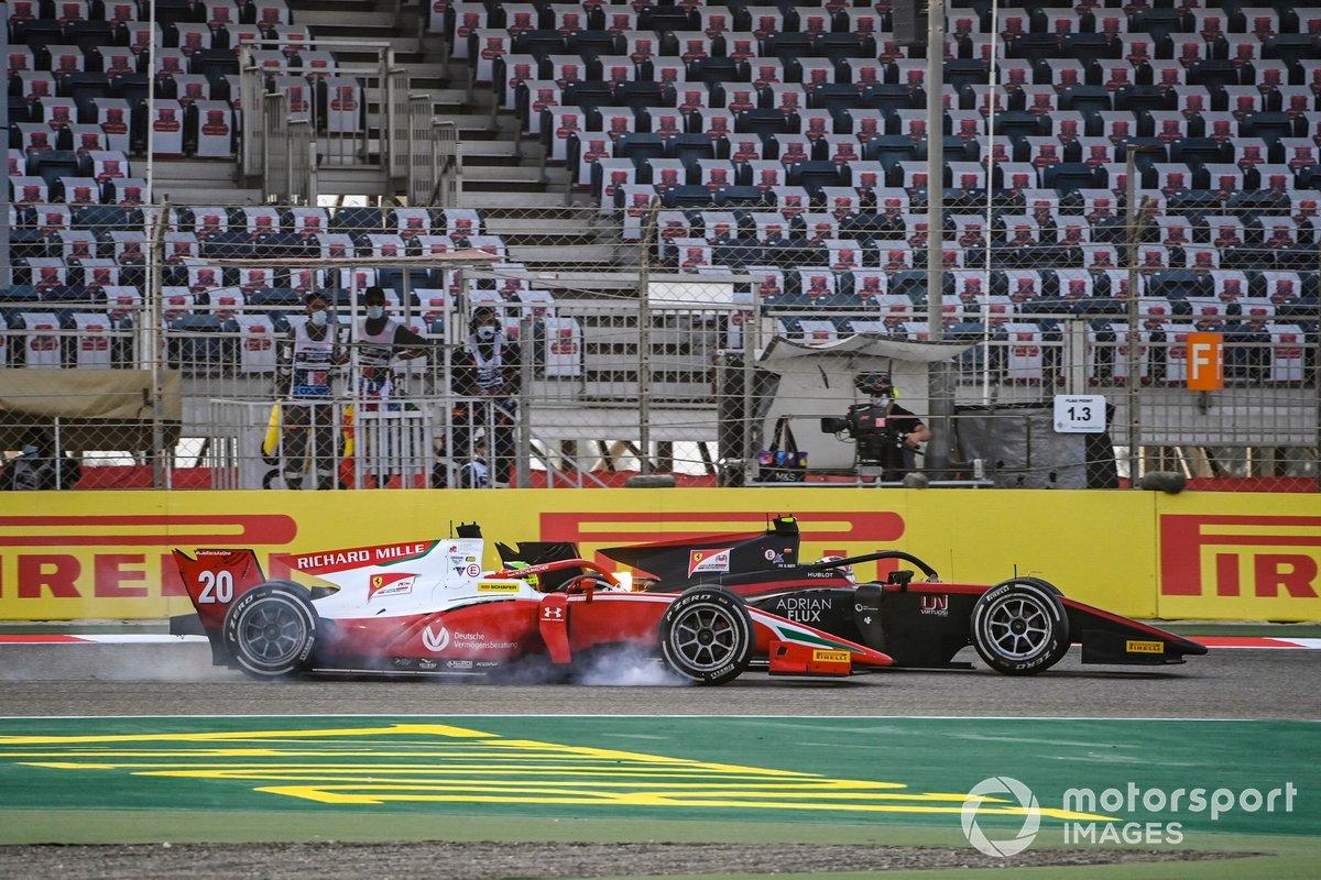 Mick Schumacher, Prema Racing, Callum Ilott, UNI-Virtuosi