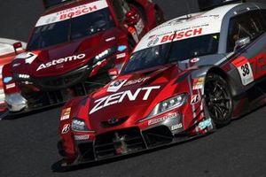 #38 ZENT CERUMO GR Supra, #17 Astemo NSX-GT