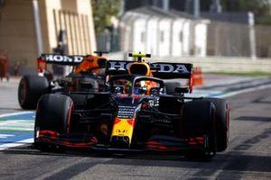 Sergio Perez, Red Bull Racing RB16B, Max Verstappen, Red Bull Racing RB16B