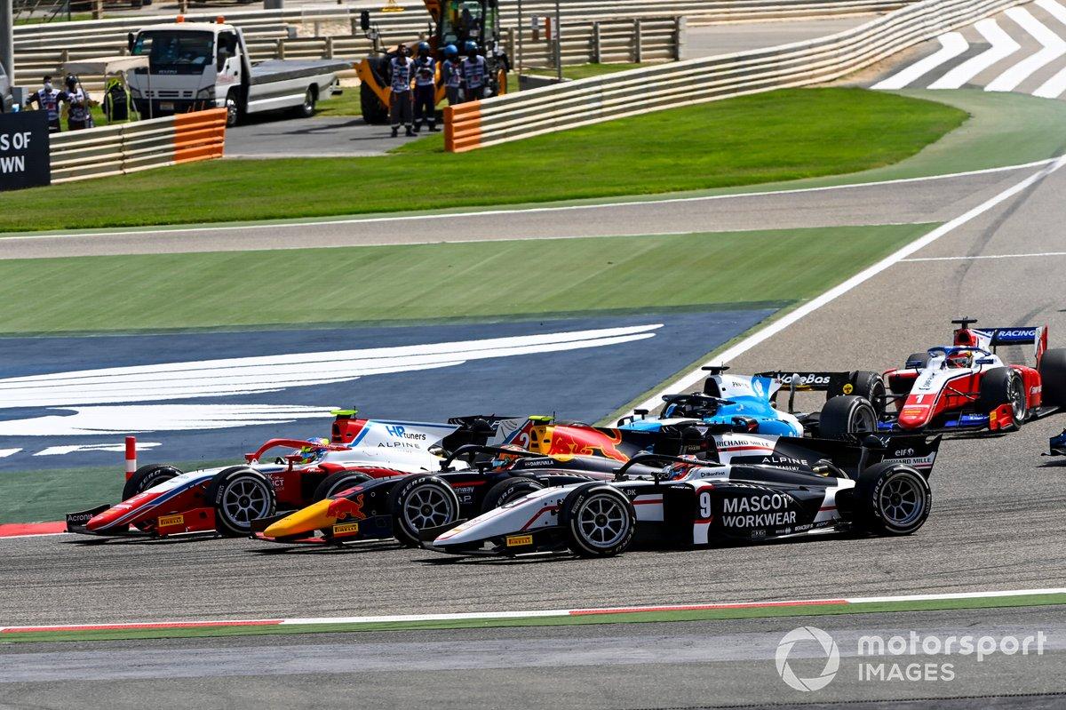 Oscar Piastri, Prema Racing, Jehan Daruvala, Carlin y Christian Lundgaard, ART Grand Prix
