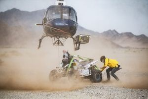 Illustration sauvetage #152 Team Giroud Yamaha: Alexandre Giroud
