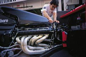 Moteur de la McLaren MP4-6 Honda