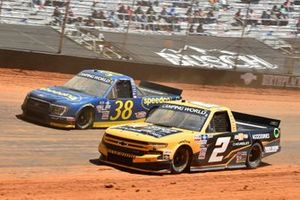 Sheldon Creed, GMS Racing, Chevrolet Silverado Chevy Accessories, Todd Gilliland, Front Row Motorsports, Ford F-150 Speedco