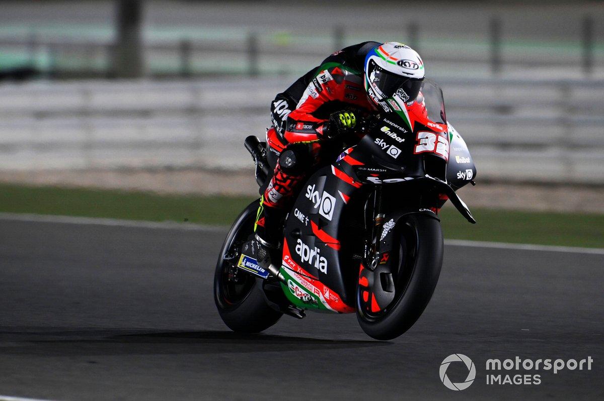 2021: Lorenzo Savadori (Aprilia RS-GP)*