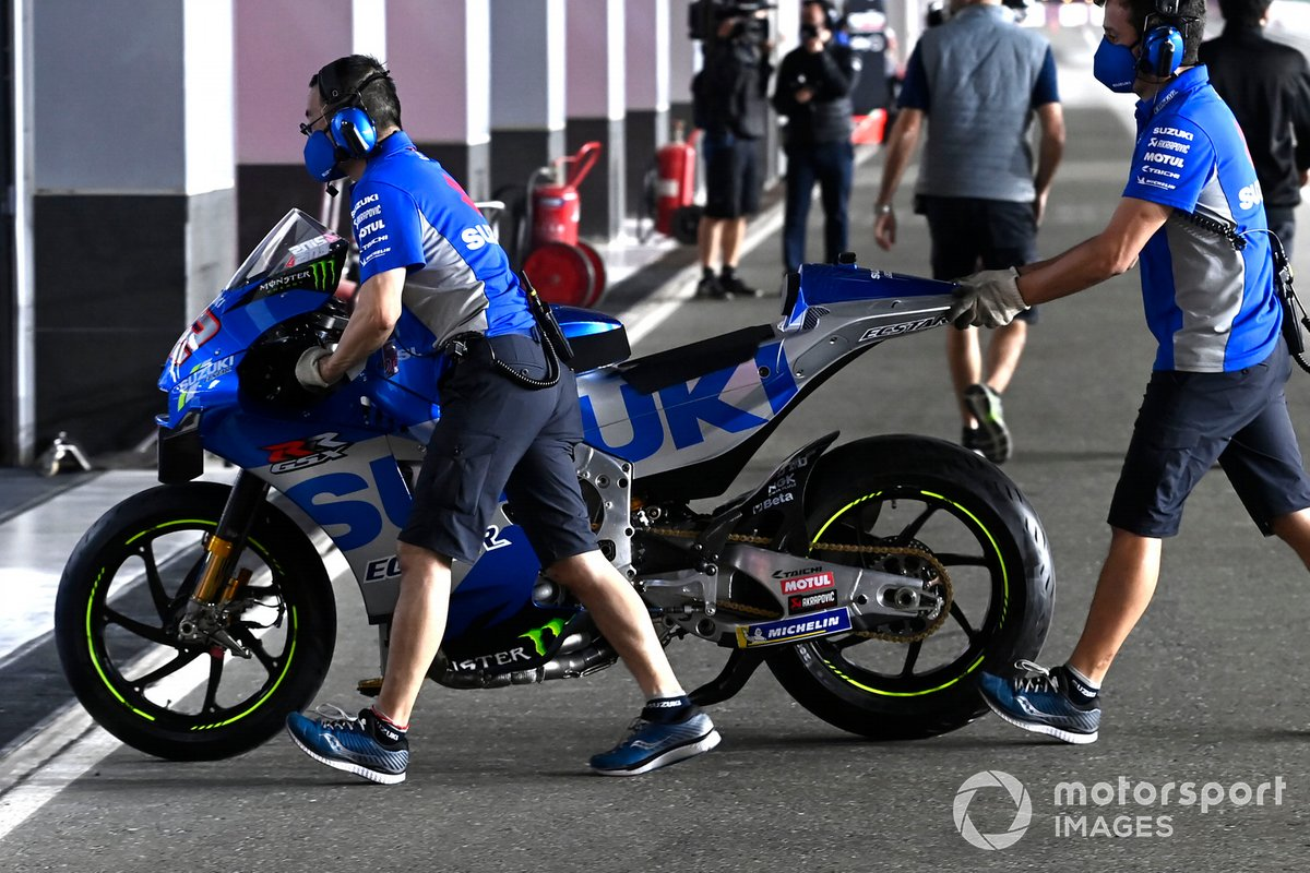 Moto de Suzuki