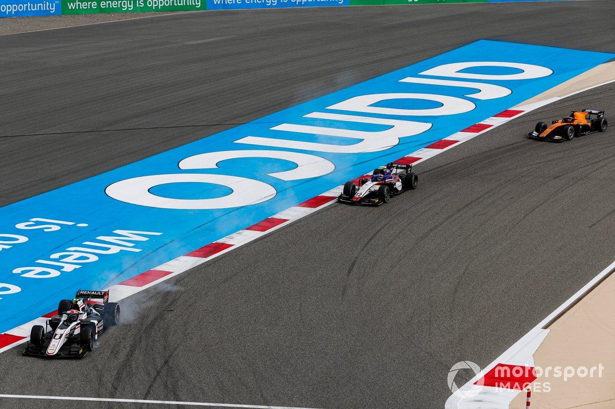 Christian Lundgaard, ART Grand Prix, Pedro Piquet, Charouz Racing System y Jack Aitken, Campos Racing