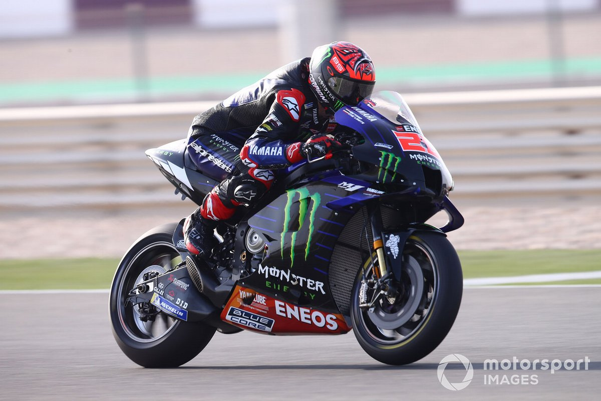 Fabio Quartararo, Yamaha Factory Racing.