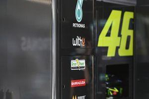 Valentino Rossi, Petronas Yamaha SRT, dettaglio della moto