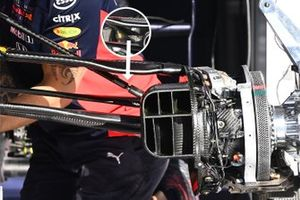 Red Bull Racing RB16 suspension detail