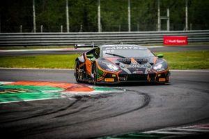 Mirko Bortolotti, Marco Mapelli and Andrea Caldarelli FFF Racing Lamborghini