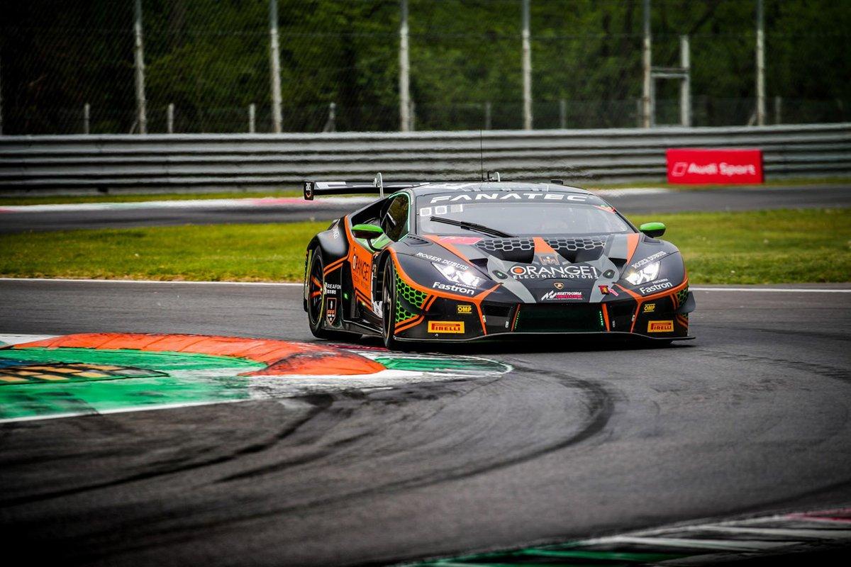 Mirko Bortolotti, Marco Mapelli e Andrea Caldarelli FFF Racing Lamborghini