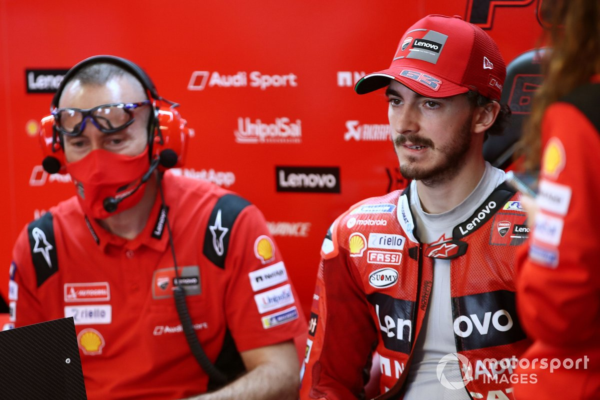 Francesco Bagnaia, Ducati Team