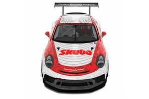 Livrea 2021 della 911 GT3 Cup di Ombra Racing per Dziugas Tovilavicius PCCI 2021