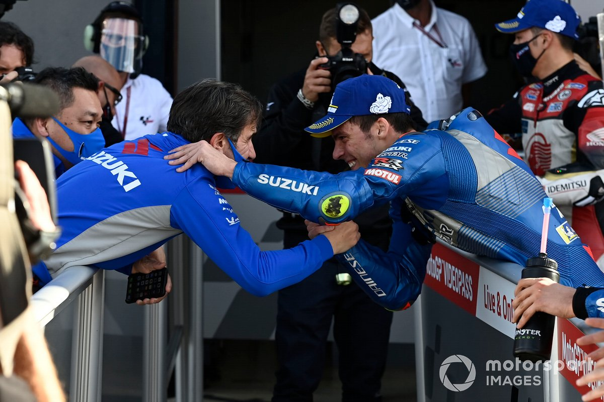 Joan Mir, Team Suzuki MotoGP, David Brivio