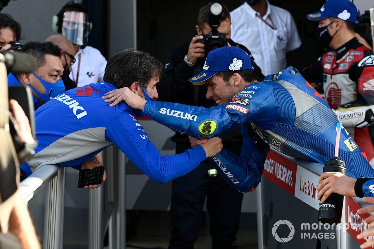 Joan Mir, Team Suzuki MotoGP, David Brivio