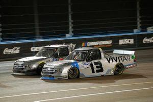Johnny Sauter, ThorSport Racing, Ford F-150 Vivitar, Todd Gilliland, Front Row Motorsports, Ford F-150 Frontline Enterprises Inc
